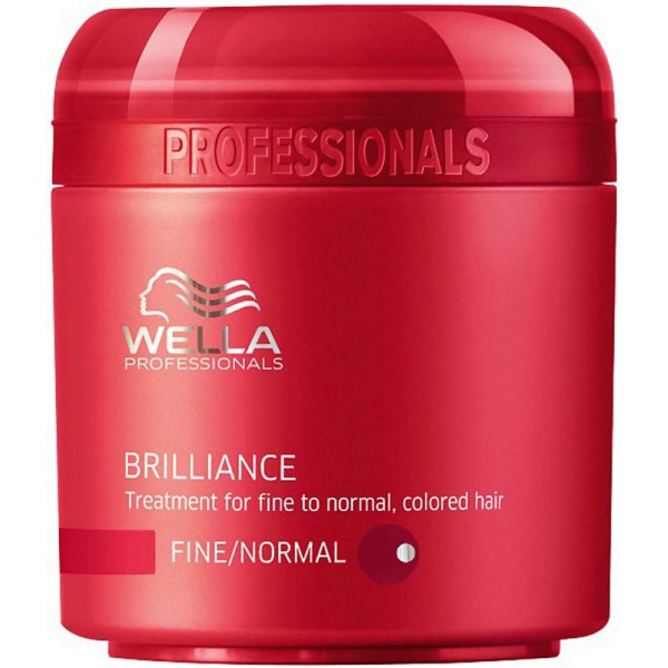 Masca tratament pentru parul structura fina-normala Wella Brilliance 150ml