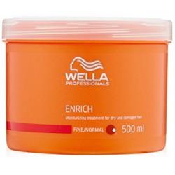 Masca hidratanta pentru par fin si normal Wella Enrich 500ml