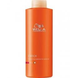 Balsam hidratant pentru par uscat Wella Enrich 1000 ml