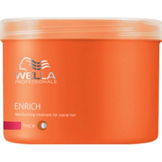 Masca hidratanta pentru par degradat Wella Enrich 500ml