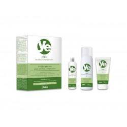 Kit Tratament cu keratina pentru un par drept Brazilian Yellow Keratin Protex