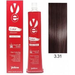 Vopsea Yellow - Dark Golden Ash Brown 3.31