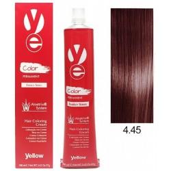Vopsea Yellow - Copper Mahogany Brown 4.45