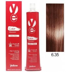 Vopsea Yellow - Dark Golden Mahogany Blonde 6.35
