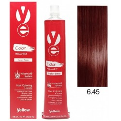 Vopsea Yellow - Dark Copper Mahogany Blonde 6.45