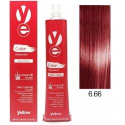 Vopsea Yellow - Dark Intense Red Blonde 6.66