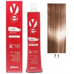 Vopsea Yellow - Ash Blonde 7.1