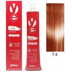 Vopsea Yellow - Copper Blonde 7.4
