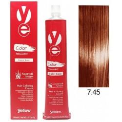Vopsea Yellow - Copper Mahogany Blonde 7.45