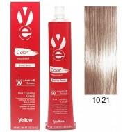 Vopsea Yellow - Lightest Violet Ash Blonde 10.21