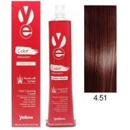 Vopsea Yellow - Mahogany Ash Brown 4.51