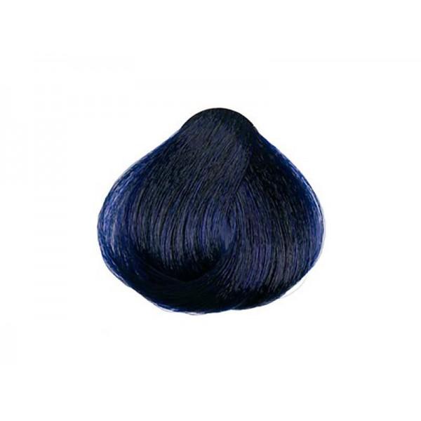 Vopsea permanenta Hair Passion Metallics Hair Coloring cream albastru cerneala 100ml