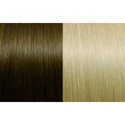 Extensii de par Clip-on 50 - 55 cm culoarea 10/20B