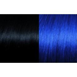Extensii de par Clip-on 50 - 55 cm culoarea 1B/BLUE