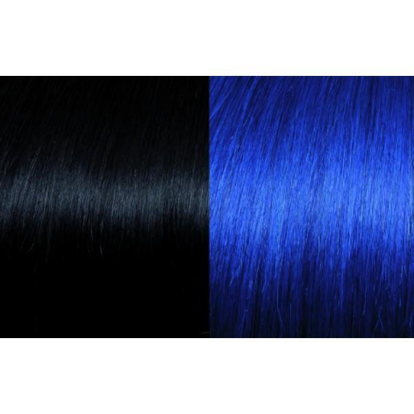 Extensii de par Clip-on 50-55cm culoarea 1B-Blue