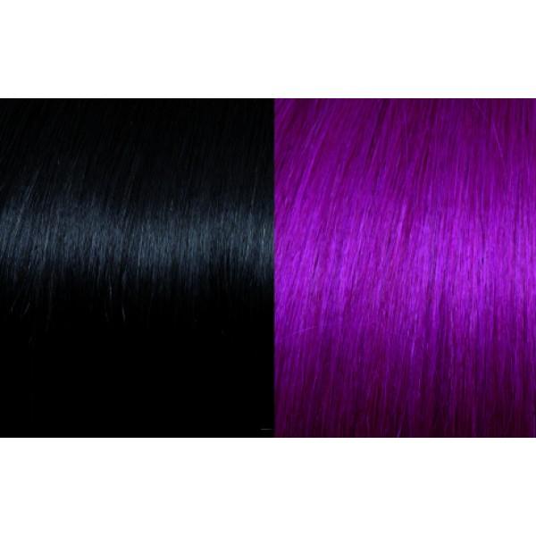 Extensii de par Clip-on 50-55cm culoarea 1B/Red Violet