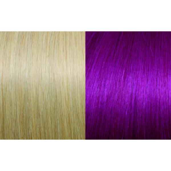 Extensii de par Clip-on 50-55cm culoarea 20-Red Violet