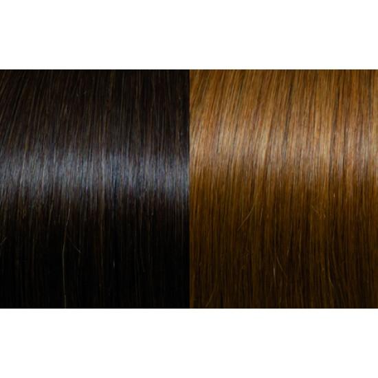 Extensii de par Clip-on 50-55cm culoarea 6-27B