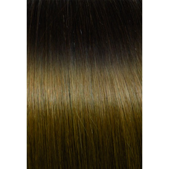 Extensii de par Clip-on 50-55cm culoarea Shatush 4-14