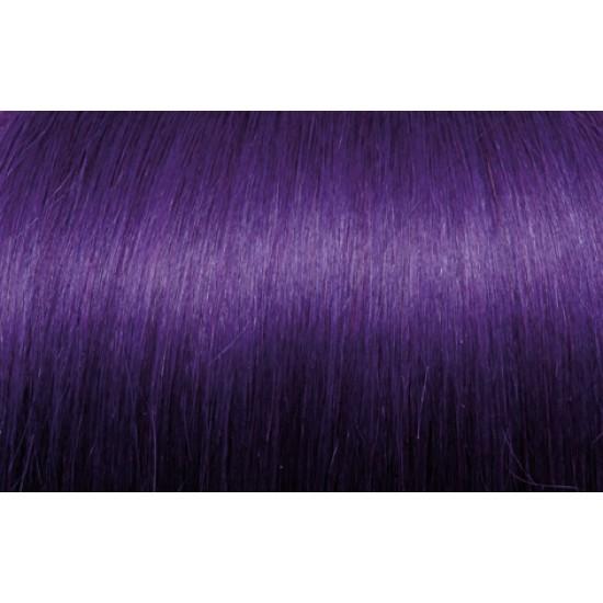 Extensii de par Clip-on 50-55cm culoarea Violet
