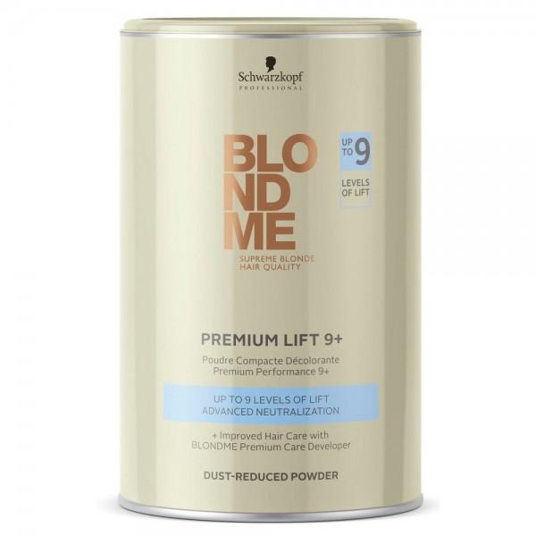 Pudra decoloranta cu agenti de ingrijire Schwarzkopf Blondme Premium Lift 9+  450g