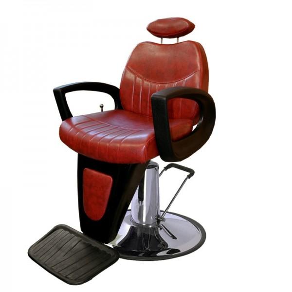 Scaun frizerie Amadeus Rosu